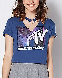Choker Galaxy MTV T Shirt