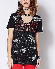 Choker Star Wars T Shirt