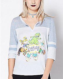 Vintage Rugrats Raglan T Shirt - Nickelodeon