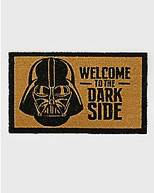 Welcome To The Dark Side Doormat - Star Wars