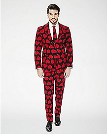 Adult King of Hearts Suit