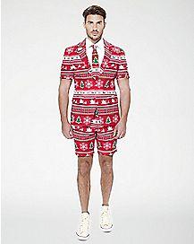 Adult Winter Wonderland Ugly Christmas Summer Suit