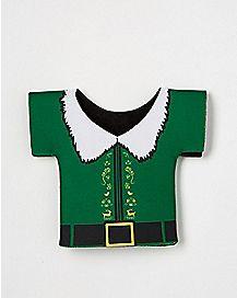 Buddy Shirt Bottle Can Cooler - Elf