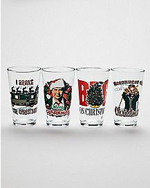 National Lampoon's Christmas Vacation Pint Glasses 4 Pack - 16 oz.
