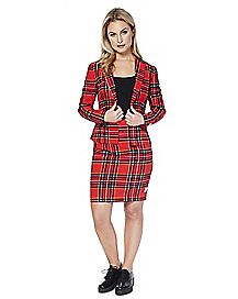 Adult Lumber Jackie Skirt Suit
