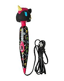 Black Unicorn Wand Massager - Tokidoki