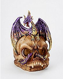 LED Dragon Skull Light