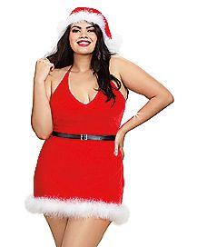 Plus Size Santa Chemise