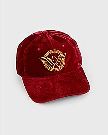 Velvet Wonder Woman Dad Hat - DC Comics