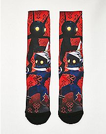 Heartless Kingdom Hearts Crew Socks - Disney