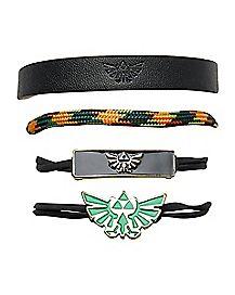 The Legend of Zelda Bracelets - 4 Pack