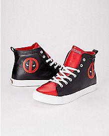 Deadpool High Top Sneakers - Marvel
