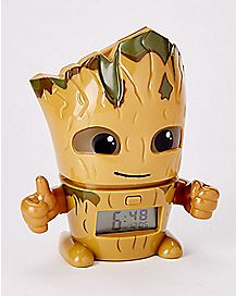 Light Up Groot Alarm Clock - Guardians of the Galaxy Vol. 2