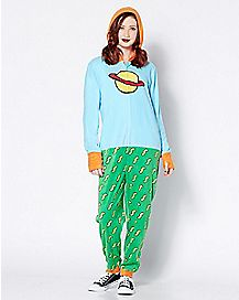 Chuckie Pajama Costume - Rugrats