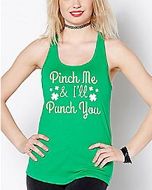 Pinch Me and I'll Punch You Tank Top