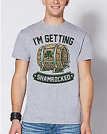 I'm Getting Shamrocked T Shirt