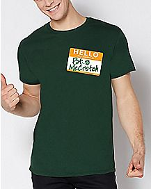 Hello My Name Is Pat McCrotch T Shirt
