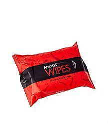 Aneros Unscented Antibacterial Wipes - 25 Pack