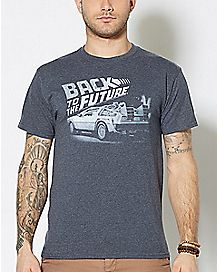 Faded Back To The Future T Shirt