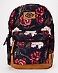Dark Floral Backpack - Dickies