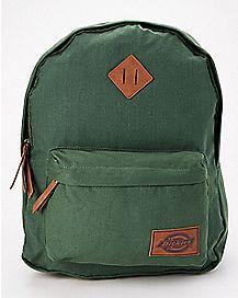 Classic Dark Green Backpack - Dickies