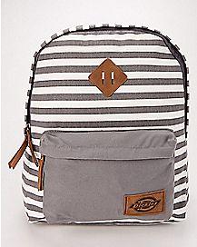 Charcoal Stripe Backpack - Dickies