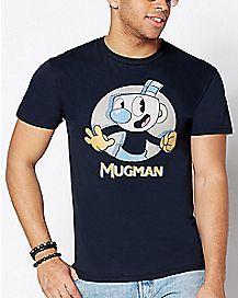 Mugman T Shirt - Cuphead