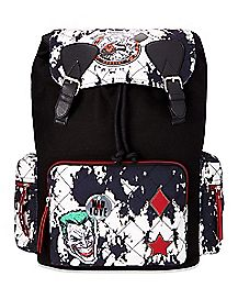 Mad Love Harley Quinn and The Joker Backpack - DC Comics