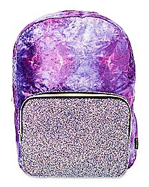 Velvet Glitter Backpack