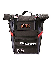 Back In Black ACDC Backpack