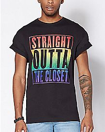 Straight Outta the Closet Plus Size T Shirt