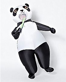 Adult Panda Inflatable Costume