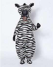 Adult Zebra Inflatable Costume