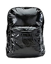 Black Metallic Big Ass Backpack - 2.5 Ft Tall