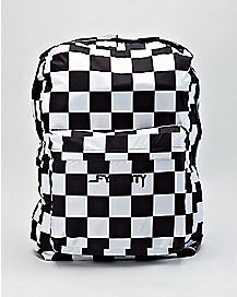 Checkered Big Ass Backpack - 2.5 Ft Tall