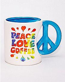 Peace Love Coffee Mug - 20 oz.