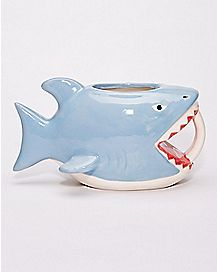 Bite Me Shark Coffee Mug - 16 oz.