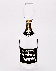 Bottomless Mimosas Champagne Glass - 32 oz.