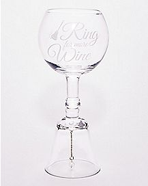 Ring For More Wine Glass - 14 oz.