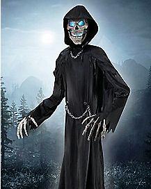10 Ft Towering Reaper Animatronics - Decorations