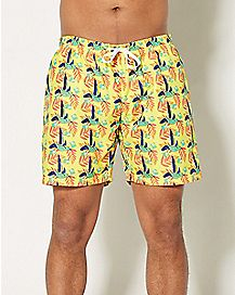 Bird Swim Trunks