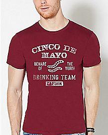 Cinco De Mayo Drinking Team T Shirt