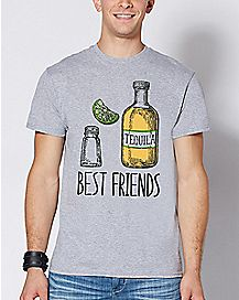 Tequila Salt and Lime Best Friends T Shirt