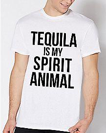 Tequila Is My Spirit Animal T Shirt