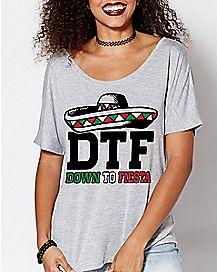 DTF Down To Fiesta T Shirt