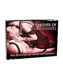 Fifty Nights Of Naughtiness Card Came