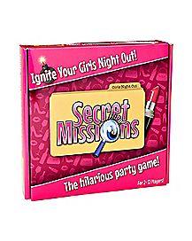 Secret Missions Girls Night Game