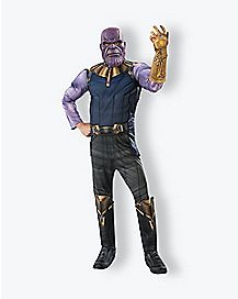 Adult Thanos Costume Deluxe  - Avengers: Infinity War