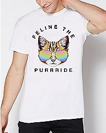 Feline The Purrride T Shirt