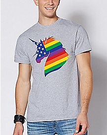 Rainbow Unicorn T Shirt